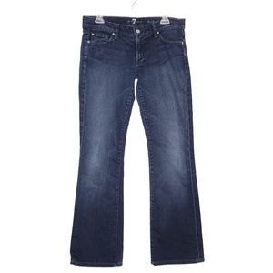 7 For All Mankind Boot Cut Denim Jeans Size 29